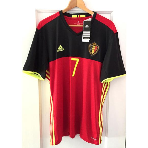 Kevin De Bruyne  7 Adidas team soccer shirt 4d80cd3b9
